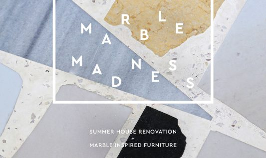 Marble madness: a striking summer house renovation
