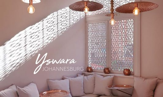 Yswara, the coolest tearoom in Johannesburg