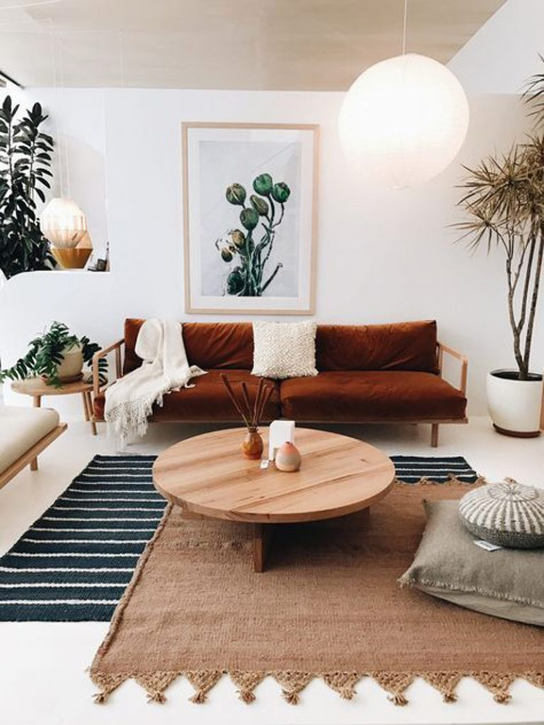 Home decor trends 2018 - Layering rugs