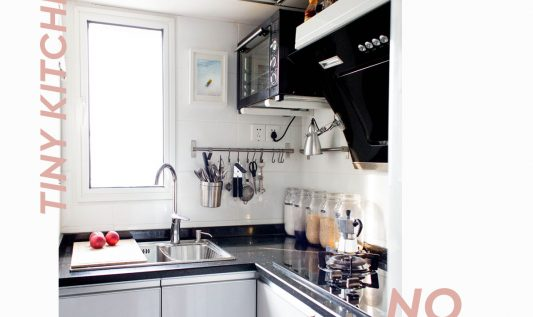 How to get the best out of your tiny kitchen