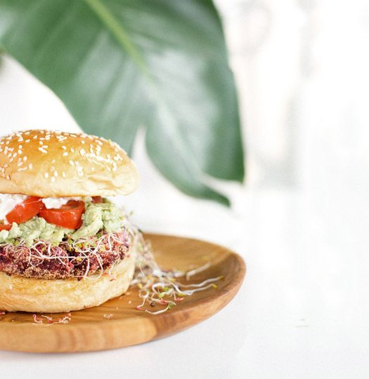 A Veggie Burger that you won't regret having