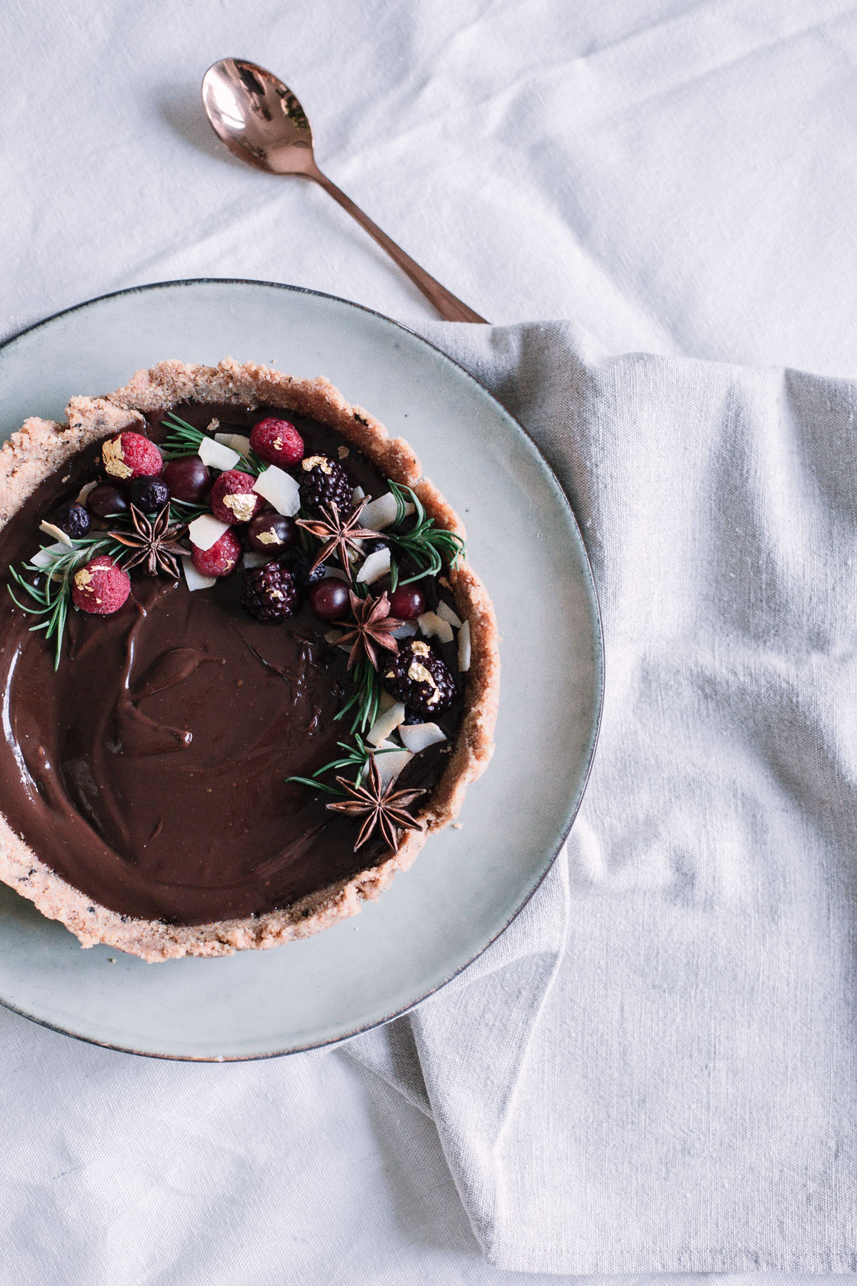 No bake chocolate tart -9_