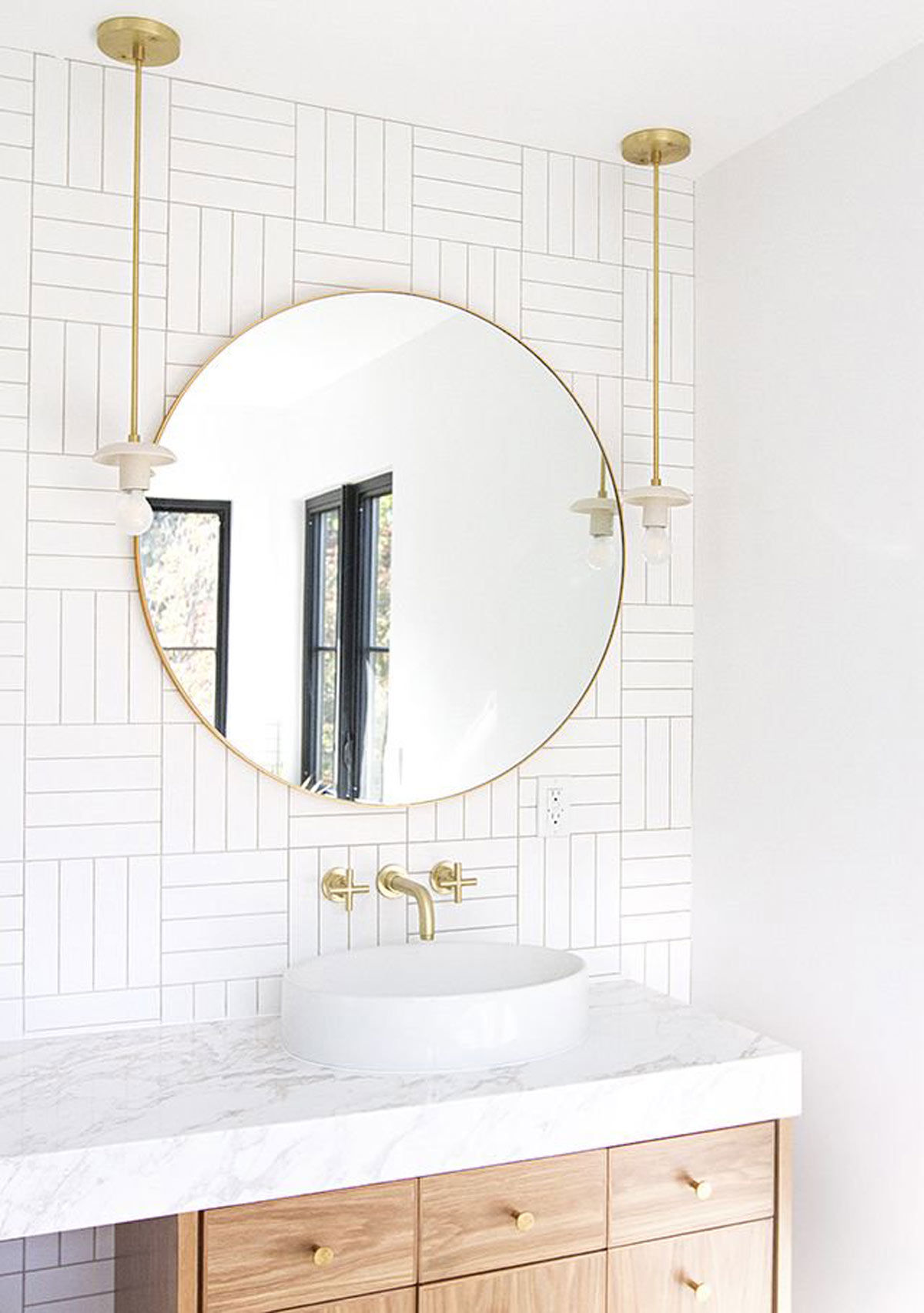 Boring Rental Bathroom? This is How You Can Make a Design Statement ...