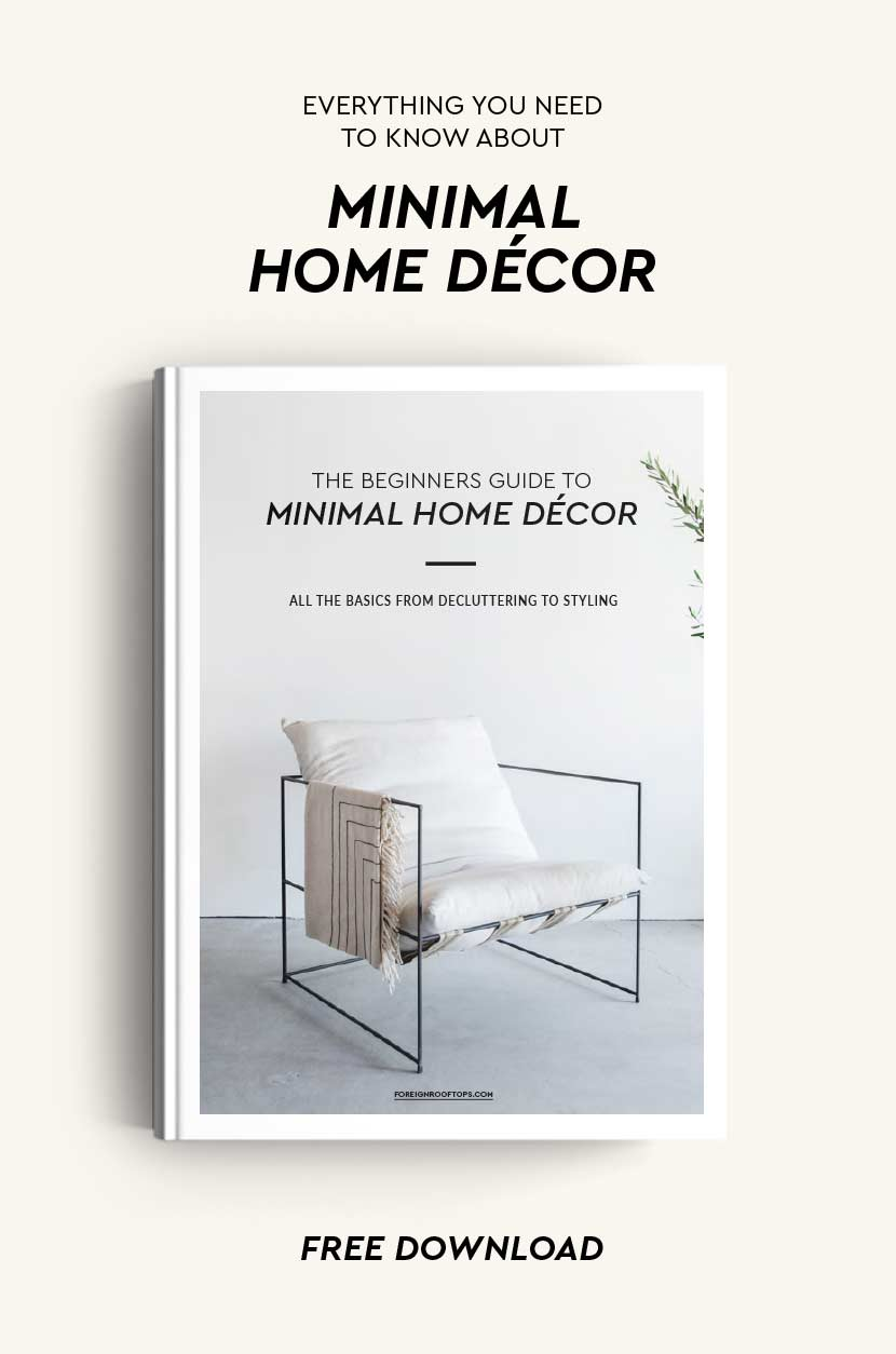 The Beginners Guide To Minimal Home D Cor Free Ebook